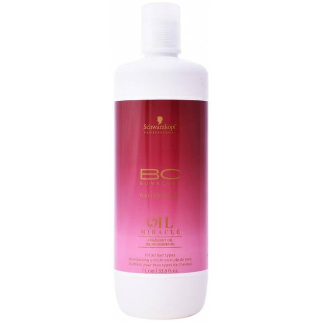 BC OIL MIRACLE brazilnut oil in șampon 1000 ml