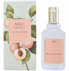 ACQUA colonia WHITE PEACH & CORIANDER apă de colonie cu vaporizator 50 ml