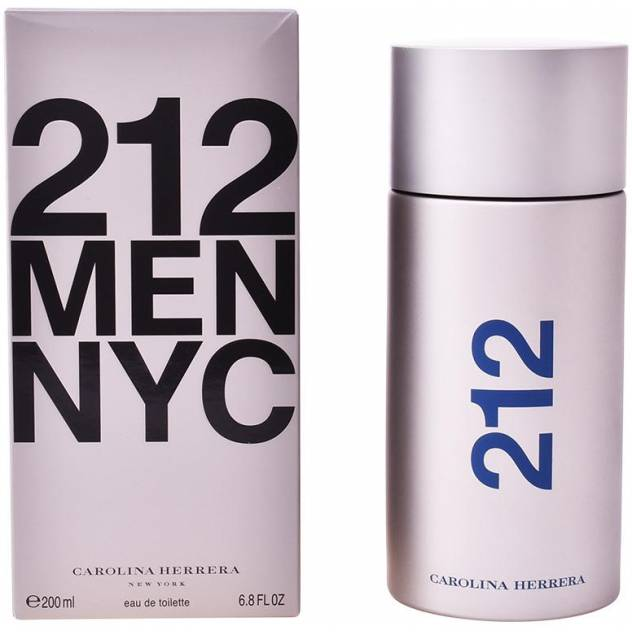 212 NYC MEN edt vaporizador 200 ml
