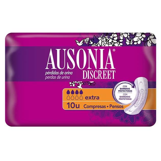 DISCREET compresas incontinencia extra 10 uds